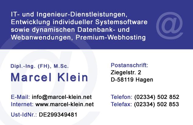 Marcel Klein